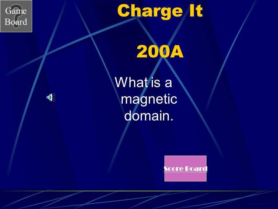 What is a magnetic domain.