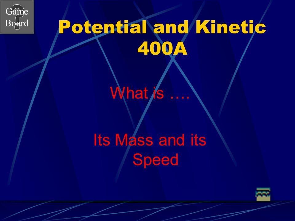 Potential and Kinetic 400A