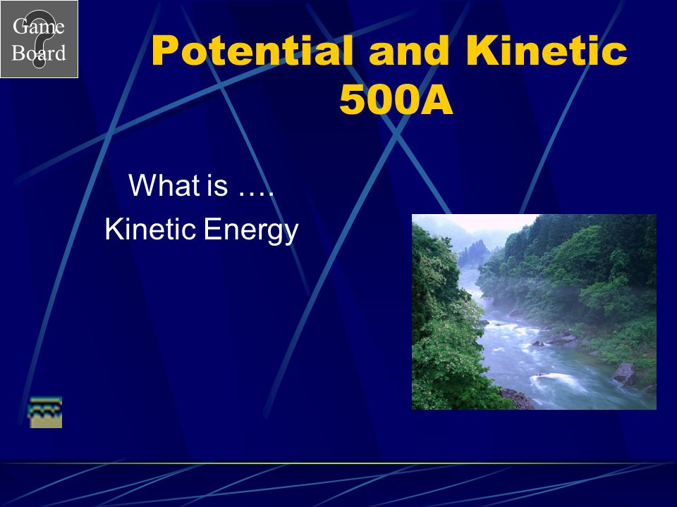 Potential and Kinetic 500A