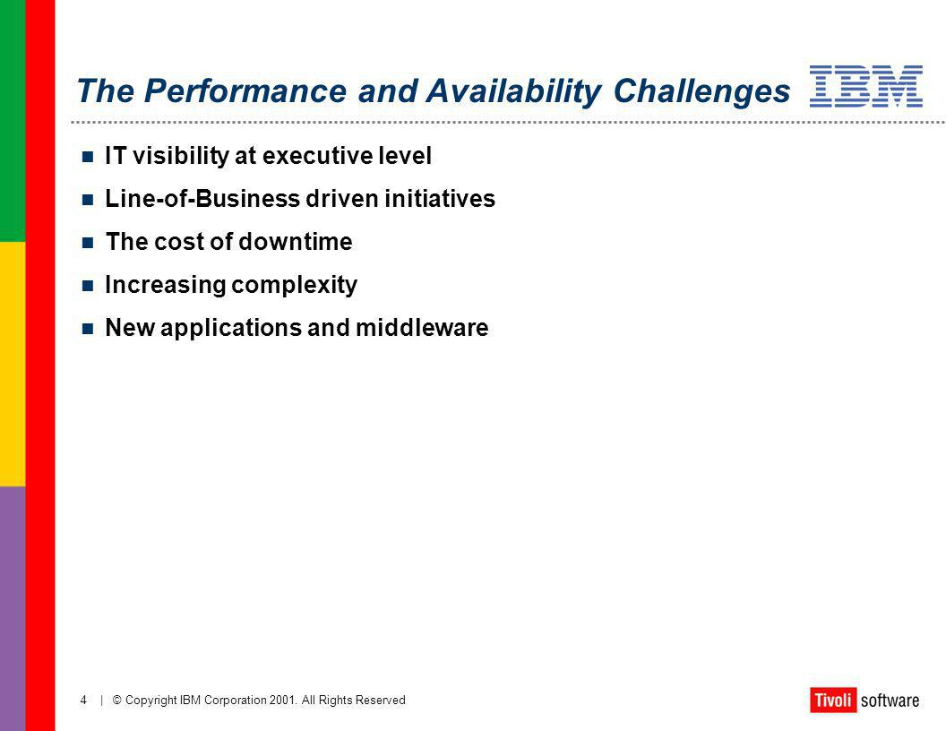 The Performance and Availability Challenges