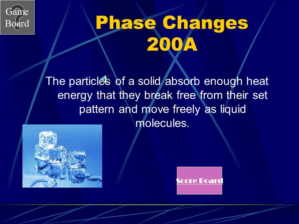 Phase Changes 200A
