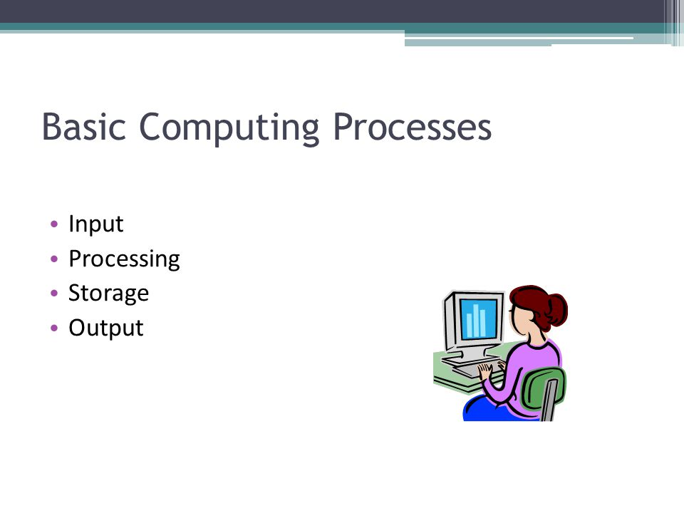 Basic Computing Processes