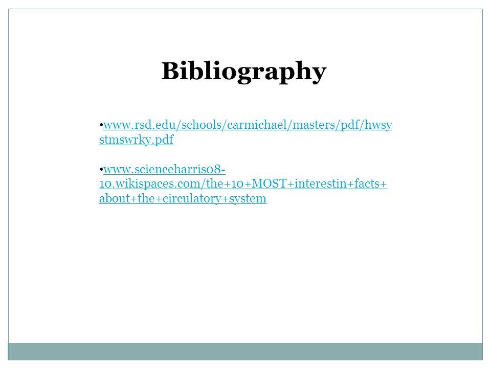 Bibliography www.rsd.edu/schools/carmichael/masters/pdf/hwsystmswrky.pdf.