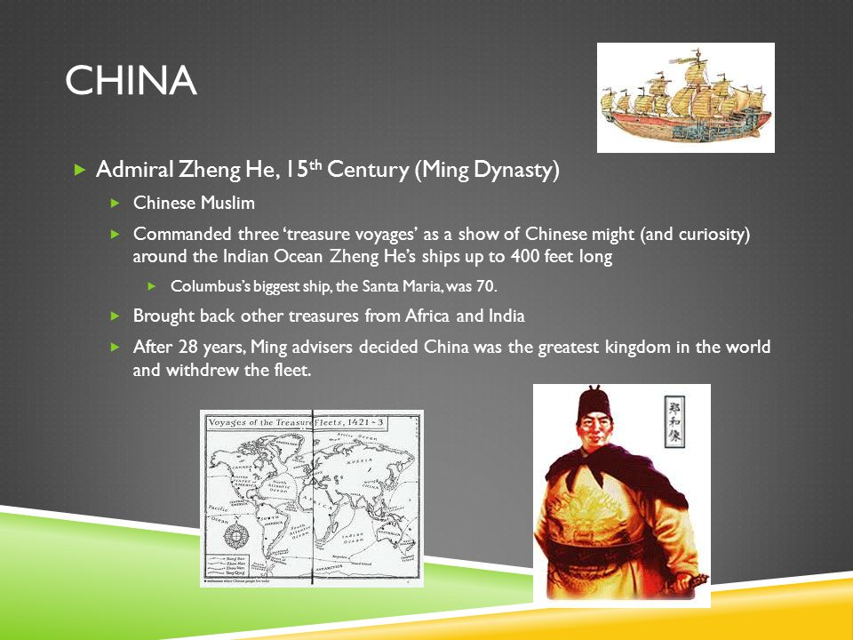 China Admiral Zheng He, 15th Century (Ming Dynasty) Chinese Muslim