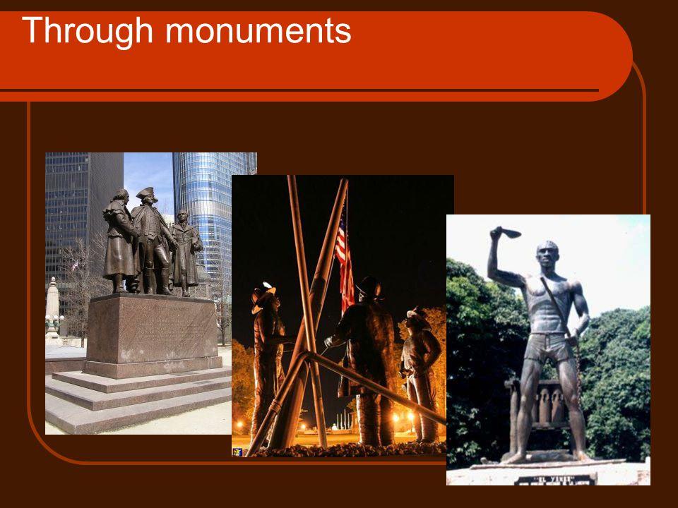 Through monuments