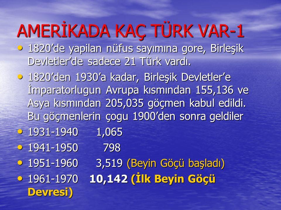 AMERİKADA KAÇ TÜRK VAR-1