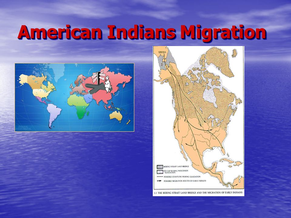 American Indians Migration