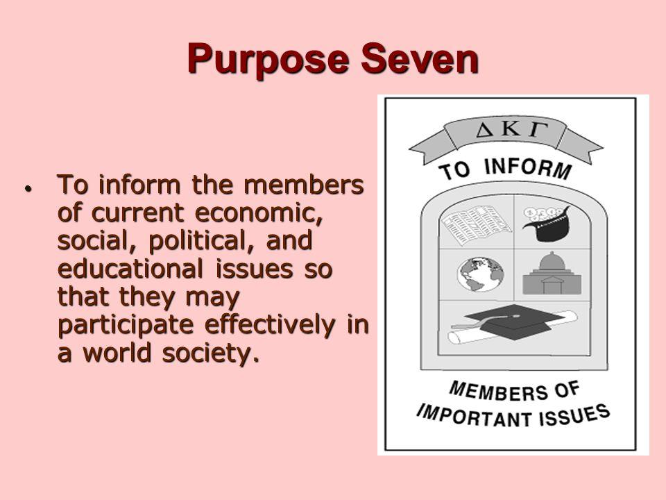 Purpose Seven