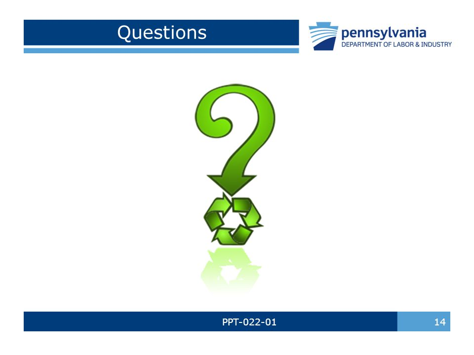 Questions PPT-022-01 14