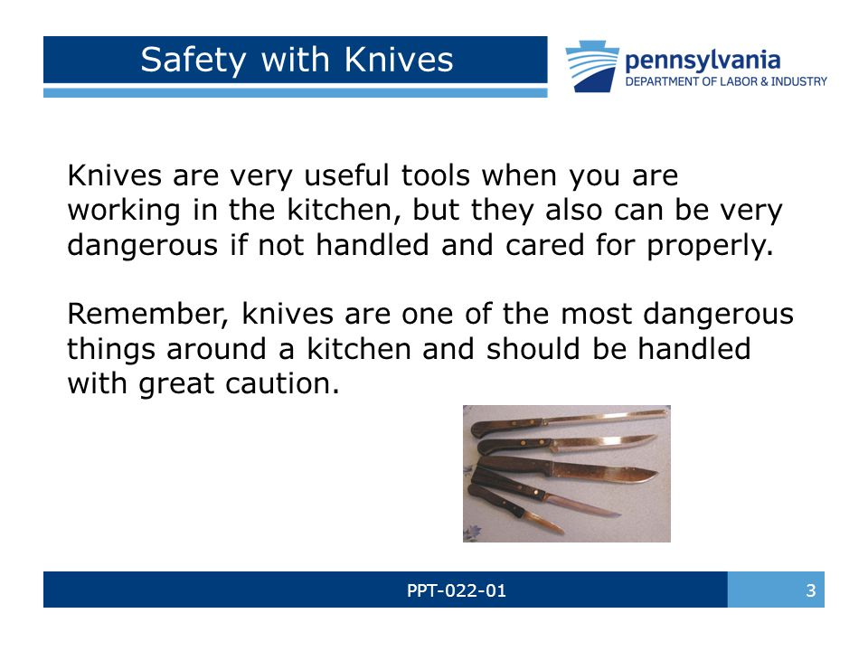 Safety with Knives