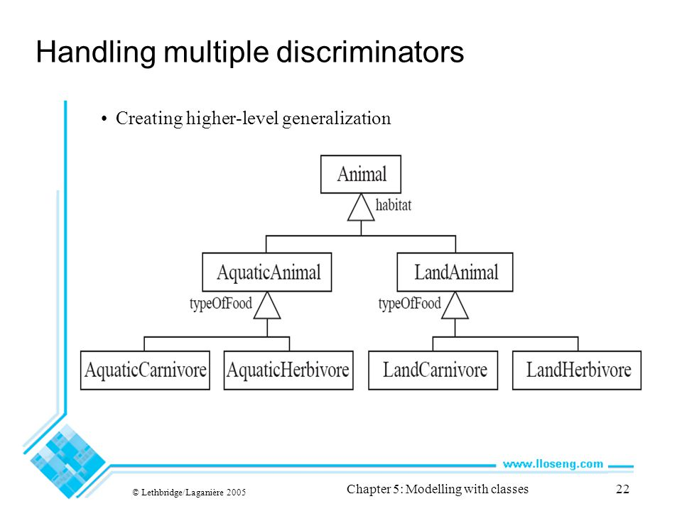 Handling multiple discriminators