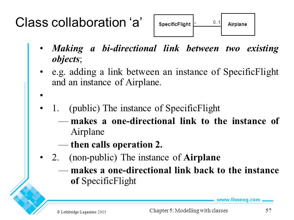 Class collaboration 'a'