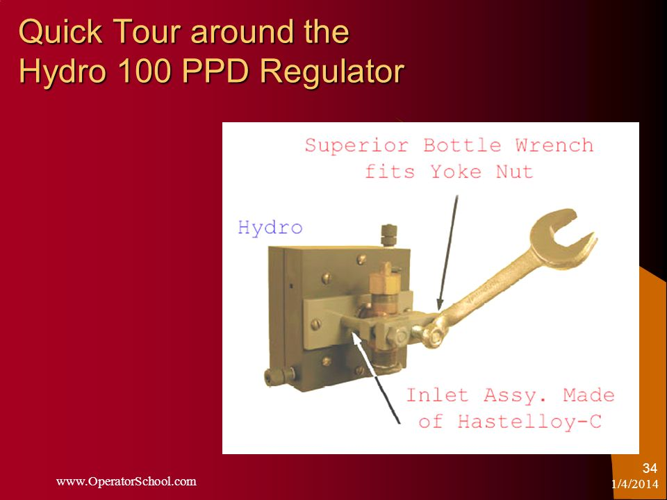 Quick Tour around the Hydro 100 PPD Regulator