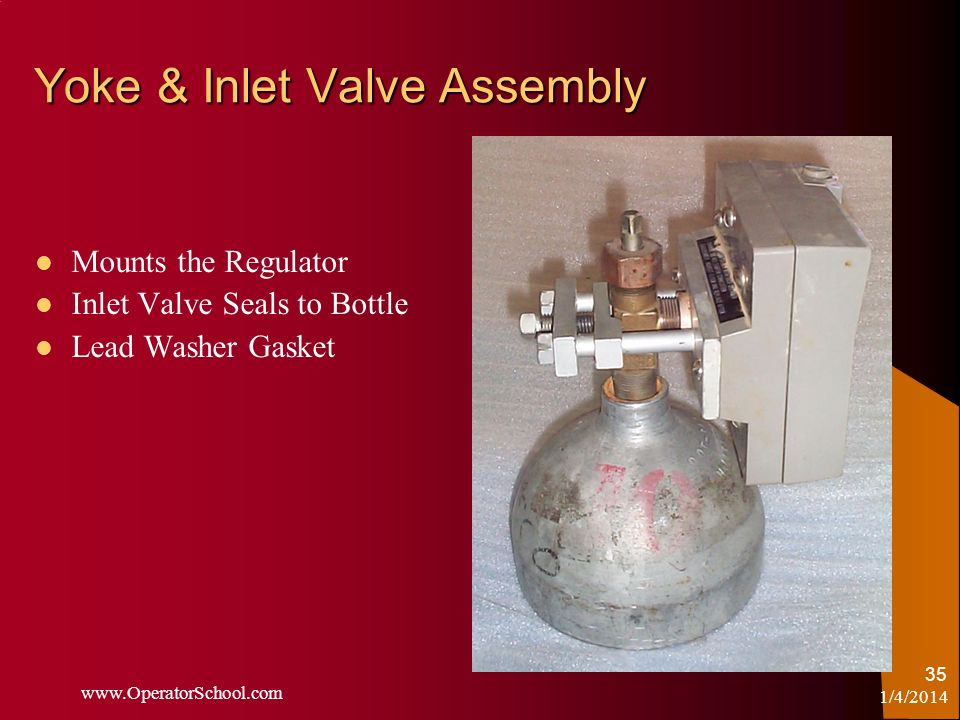 Yoke & Inlet Valve Assembly