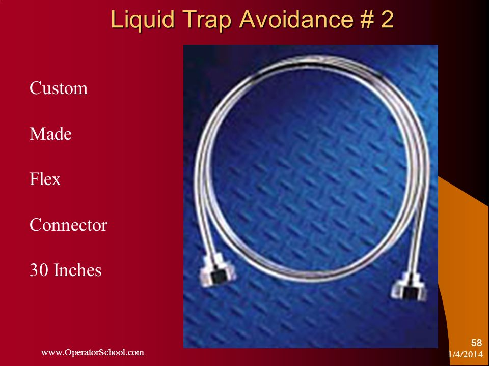 Liquid Trap Avoidance # 2
