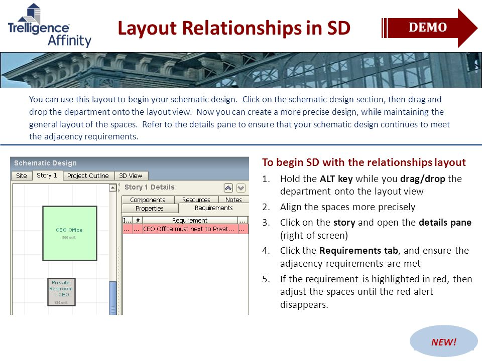 Layout Relationships in SD