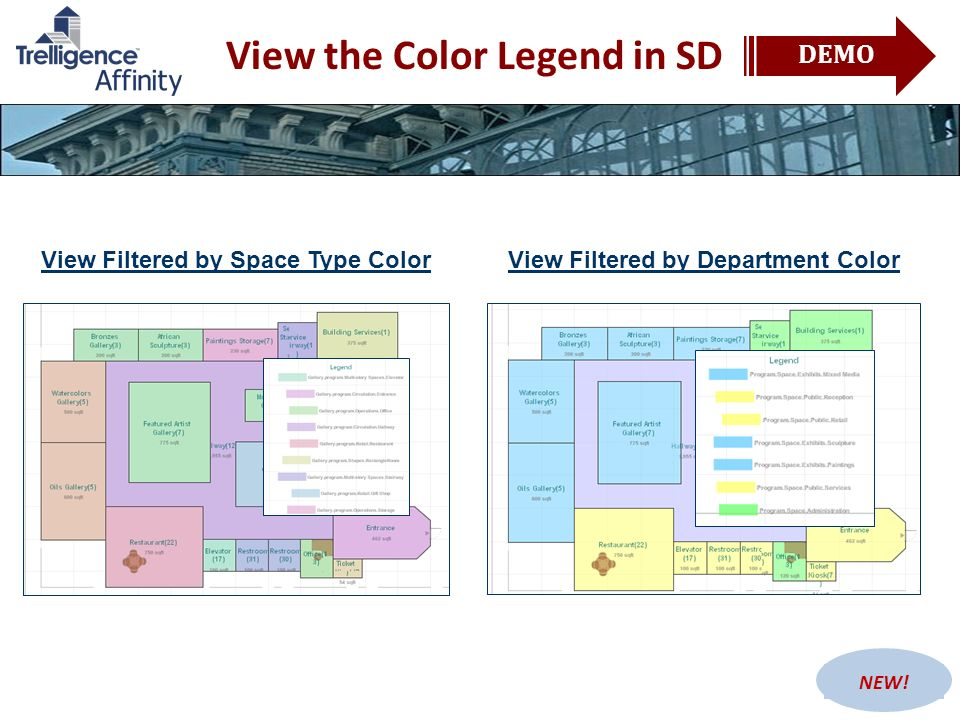 View the Color Legend in SD