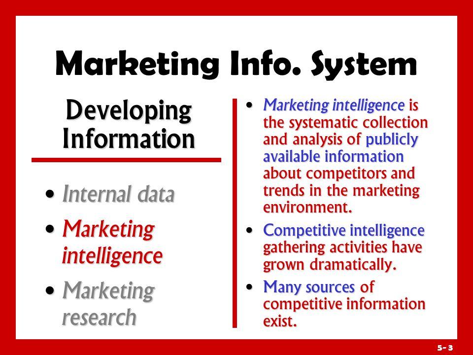 Developing Information