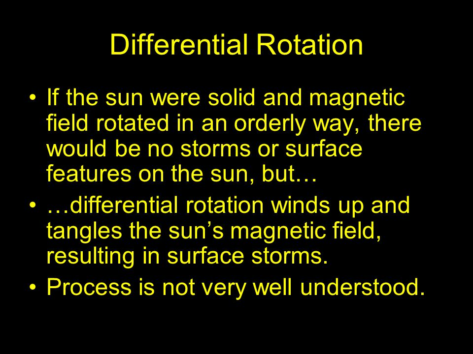 Differential Rotation