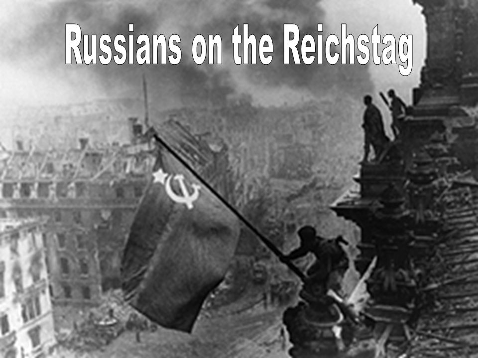 Russians on the Reichstag