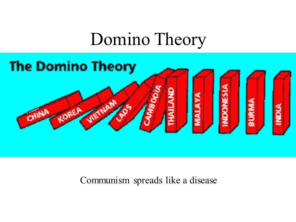 Communism spreads like a disease