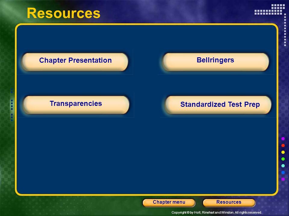 Standardized Test Prep