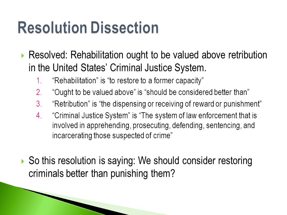 Resolution Dissection