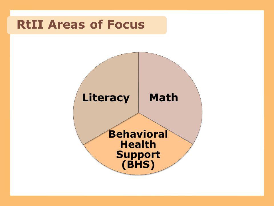 Behavioral Health Support (BHS)