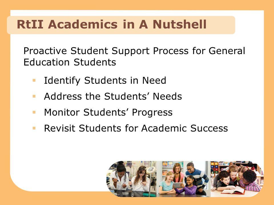 RtII Academics in A Nutshell