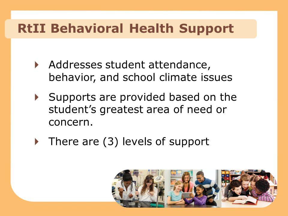 RtII Behavioral Health Support