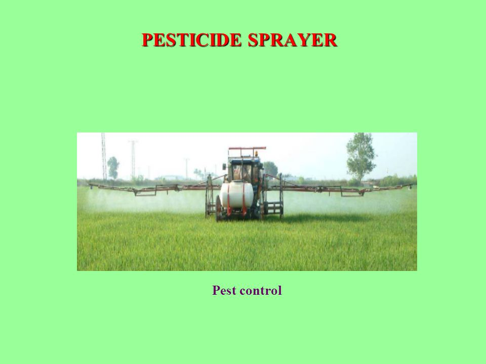 PESTICIDE SPRAYER Pest control