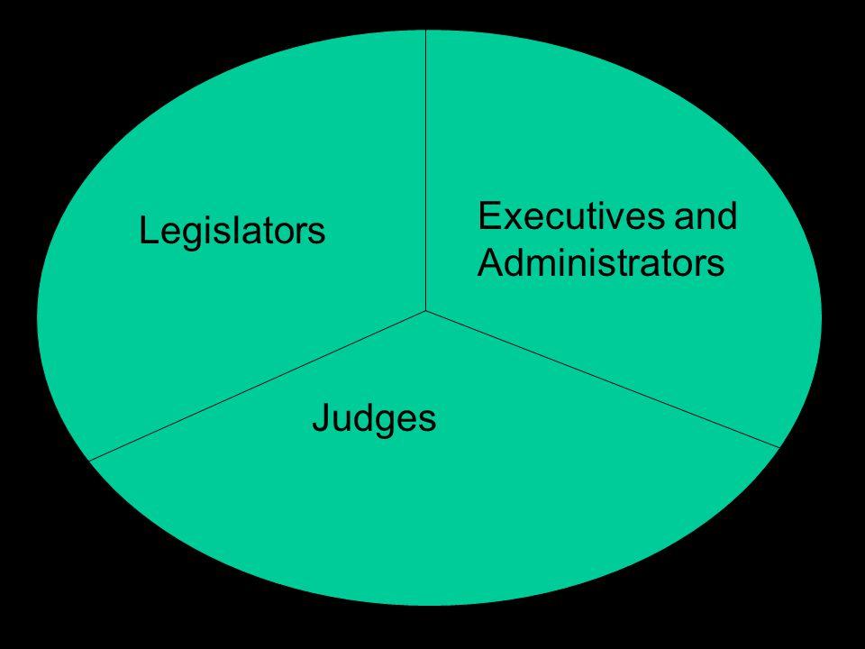 Executives and Administrators