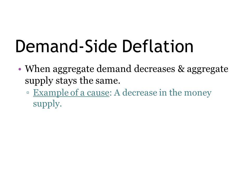 Demand-Side Deflation