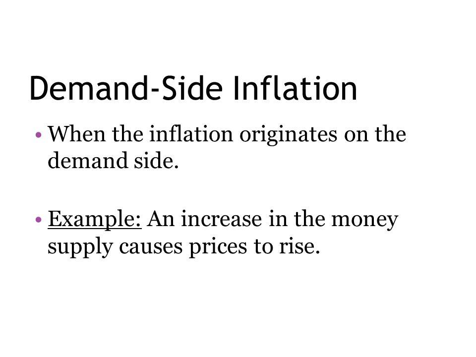 Demand-Side Inflation