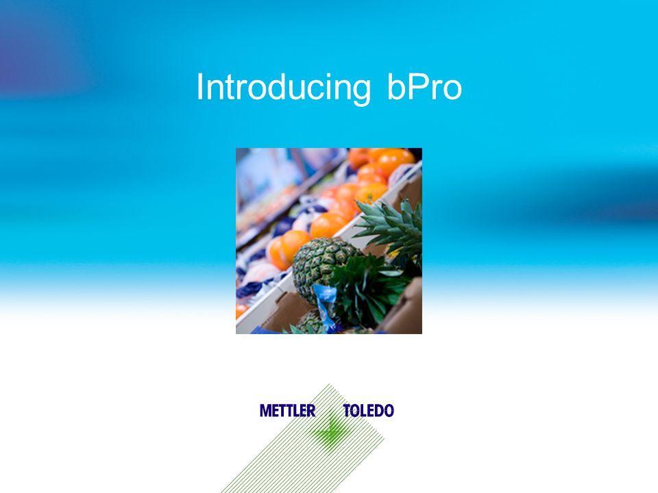 Introducing bPro