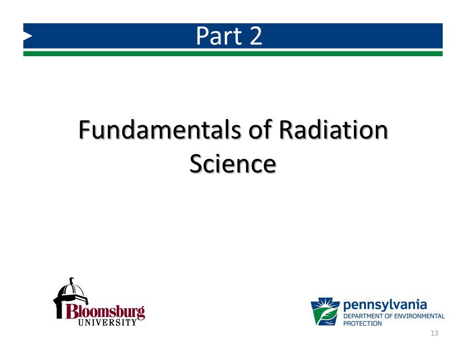 Fundamentals of Radiation Science