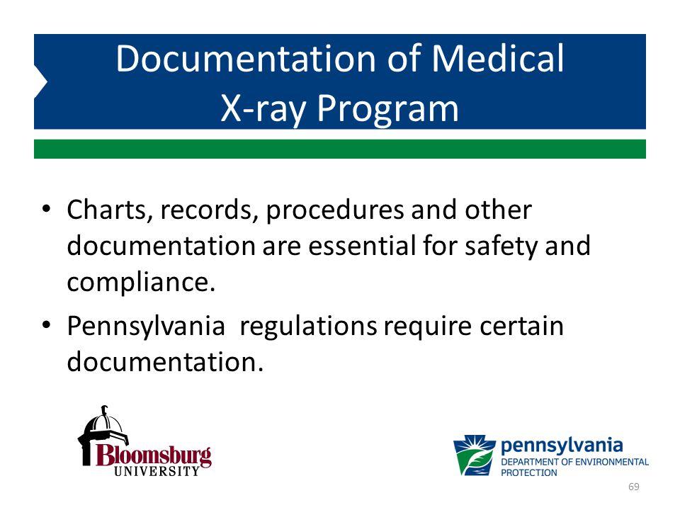 Documentation of Medical X-ray Program