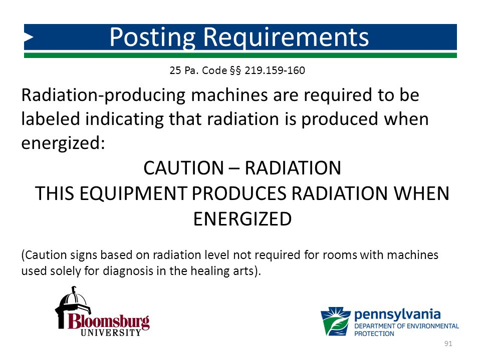 THIS EQUIPMENT PRODUCES RADIATION WHEN ENERGIZED