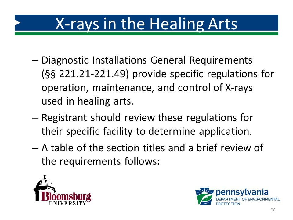 X-rays in the Healing Arts