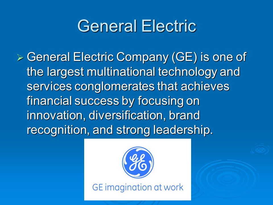 case ge growth Slide 7 talking points - the road ahead on september 7th, 2001, jeff immelt, now a 24-year veteran of ge, was appointed chairman four.