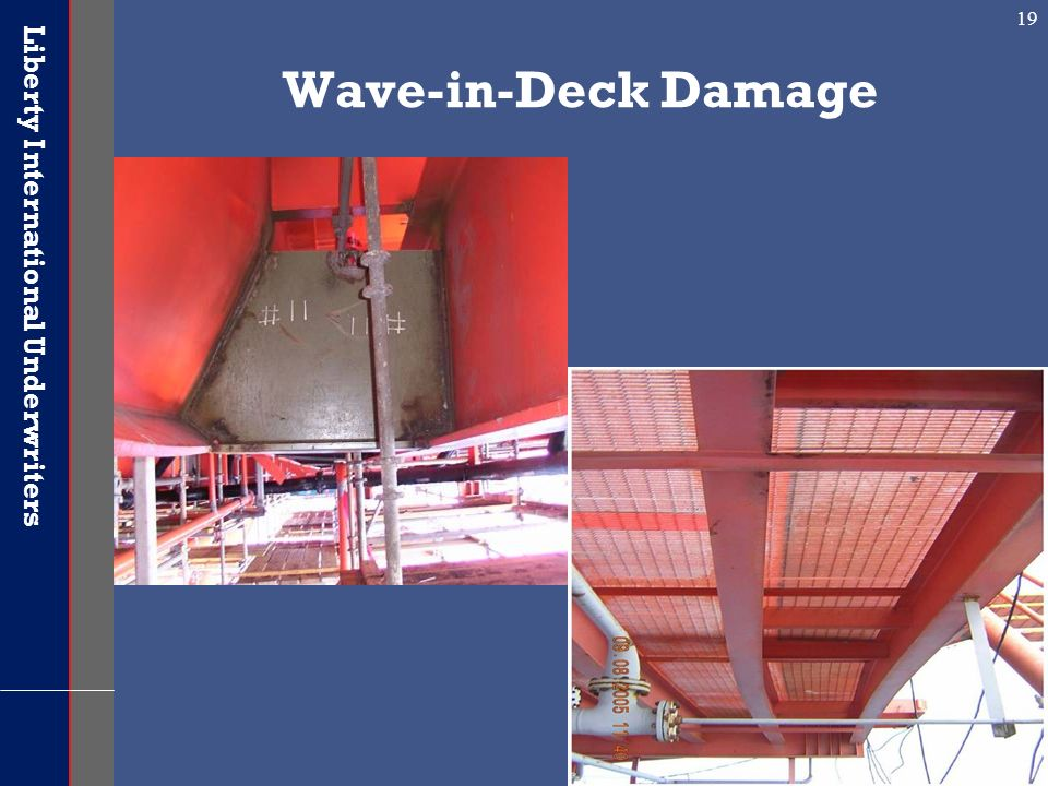 Wave-in-Deck Damage