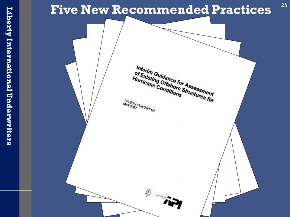 Five New Recommended Practices