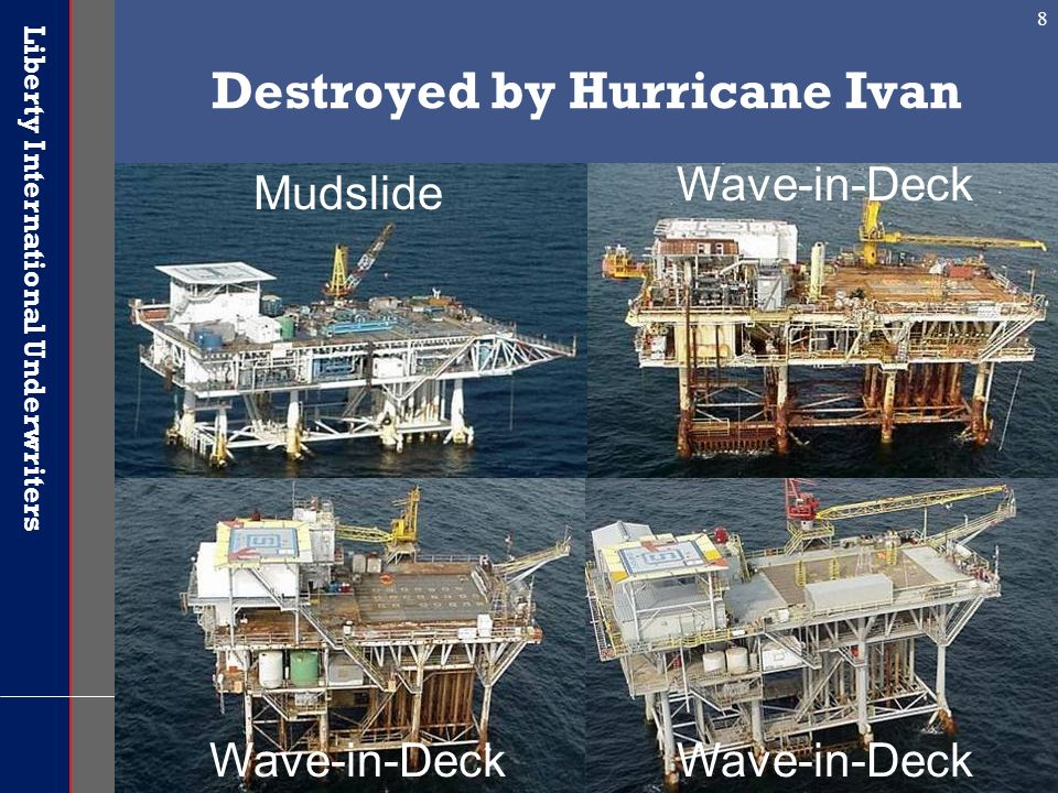 Destroyed by Hurricane Ivan