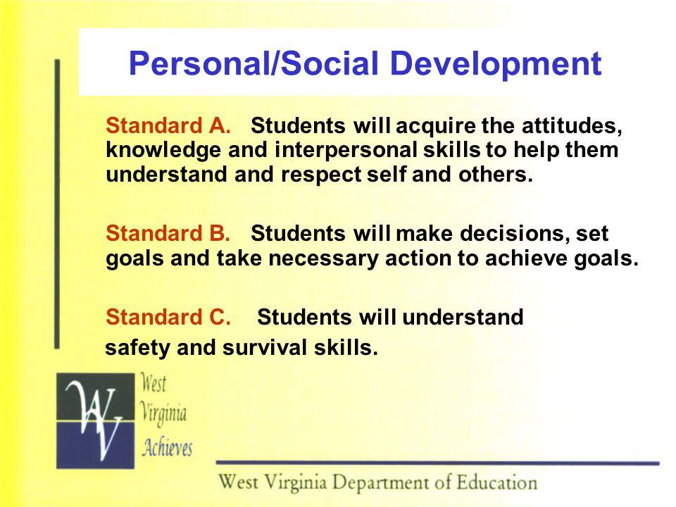 Personal/Social Development