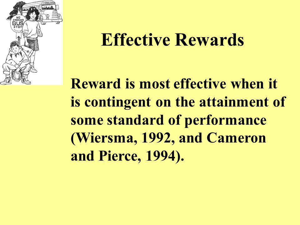 Effective Rewards