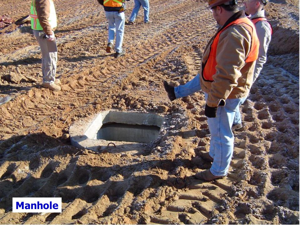 Manholes are common construction confined spaces