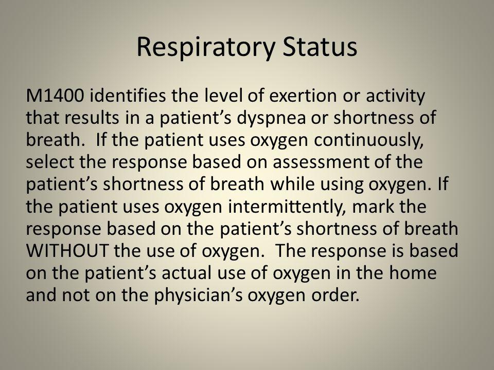 Respiratory Status
