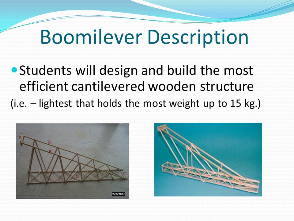 Boomilever Description