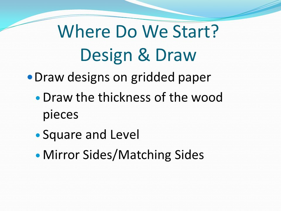 Where Do We Start Design & Draw