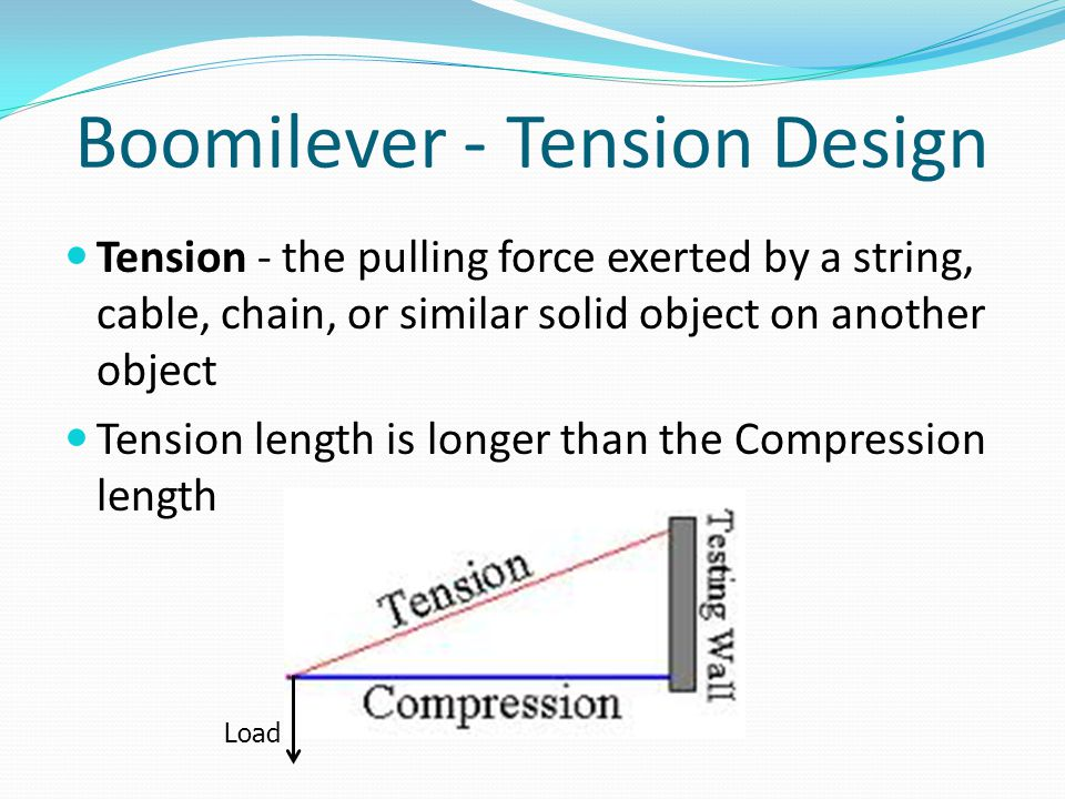 Boomilever - Tension Design